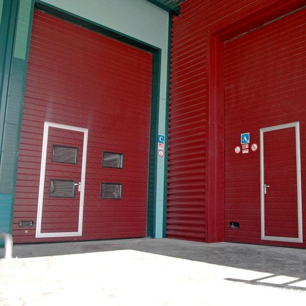 секционные ворота Противопожарные
